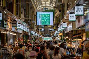 マンウォン(望遠)市場&マンリダンギル