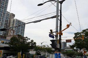 ソウル市、信号および監視カメラなどにICTを搭載したスマートポールを試験設置