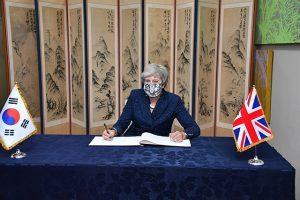 イギリス前首相、新型コロナウイルス感染症の防疫対応ノウハウを学ぶためソウル市庁を訪問