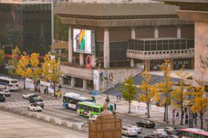 2020セジョン(世宗)文化会館・屋外空間におけるキュレーション「クァンファムン(光化門)ラプソディ」