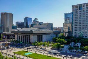 4年間市民とともに構想したクァンファムン(光化門)広場、最初の一歩を踏み出す