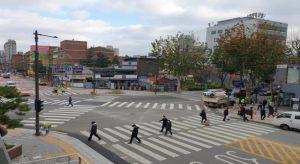 25か所にスクランブル交差点を新設し、さらに歩きやすくなるソウルへ