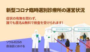 ソウル市、臨時選別診療所の運営を4週間延長