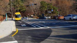 ナムサン(南山)公園で環境にやさしい電気低床バスの運行を本格的に開始