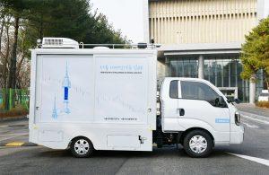 PM2.5高濃度地域で大気質を測定する移動型「モバイルラボ」を本格的に運営開始