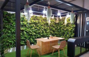 屋内型庭園スマートガーデン44か所を造成、新型コロナ時代の癒しスポットへ