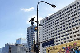 ソウル市、街路灯・信号機・公衆Wi-Fi・防犯カメラをひとつに…「スマートポール」26基を構築