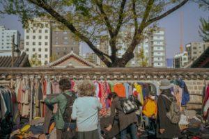 トンミョ(東廟)フリーマーケット