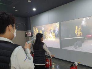 ソウル市モクトン(木洞)災難体験館が災害部屋脱出体験をオンラインで運営