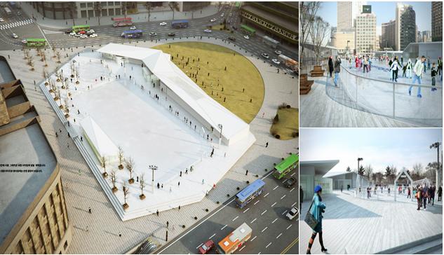 Seoul Ice Rink !