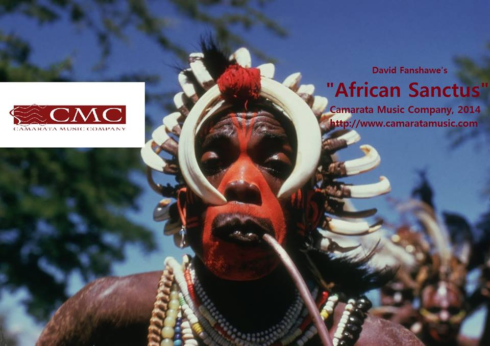 "SING ""AFRICAN SANCTUS"" WITH CAMARATA MUSIC COMPANY!"