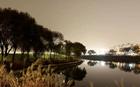 風雅な趣のある冬の漢江