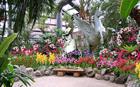 「春の香り、フラワーフェスティバル」特別展示会