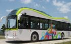 環境にやさしい電気バス、ソウルを走る