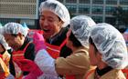 呉世勲市長、「2010愛のキムチ漬け」イベントに出席