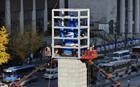 李舜臣将軍像、建立42年目に修理