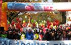 4~6月第二土曜日、南山にて100万人徒歩大会を開催