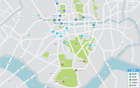 ソウル市、今年都心に138面の観光バス駐車スペースを確保