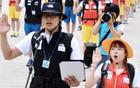 ソウル広場において大韓民国希望遠征隊の発足式を開催