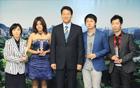 呉世勲ソウル市長、タイ映画の製作チームに感謝状を贈る