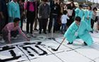 10月9日のハングルの日、光化門広場揮毫大会を開催