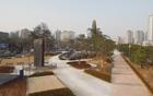 龍山戦争記念館前広場の1万2千㎡「開かれた市民公園」開放