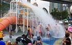 夏の避暑地!29日に漢江公園野外プール全面オープン