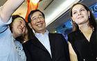 外国人留学生、朴元淳市長に会って政策を提案