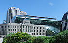 ソウル市の新庁舎、4年5ヶ月の工事を終え、内部を公開