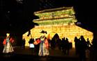 清渓川に浮かぶ35,000の灯り