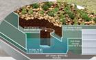 ソウル市、 清雲(チョンウン)中学校の屋上に『緑化+雨水貯留槽』を試験導入