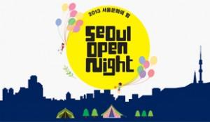 2013 ソウル文化の夜 「ソウル、夜(よ) 遊ぼう!」