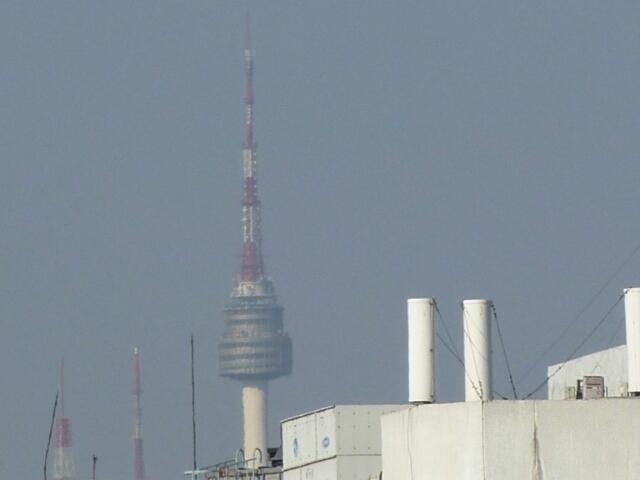 ここからもNソウルタワーが見られる