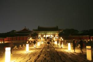 夜に楽しむ昌慶宮