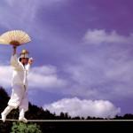 韓国民俗村の伝統綱渡り