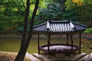 昌徳宮(チャンドックン)の庭園、後苑
