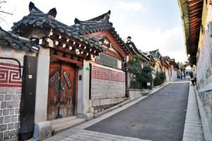 嘉会洞(カフェドン)と北村(プクチョン)